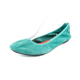 Hush Puppies Women's 'Chaste Ballet' Regular Suede Casual Shoes (Size 7.5 )