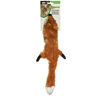 "Skinneeez Stuffing Free Dog Toy 23""-Fox"