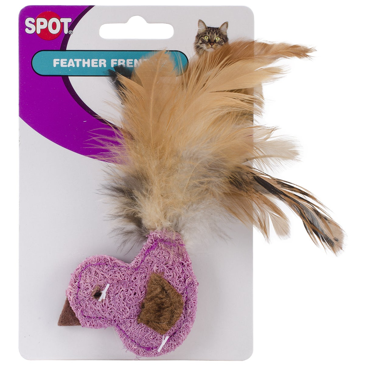 Ethical Feather Frenzy Cat Toy-Duck, Fish Or Butterfly Wi...