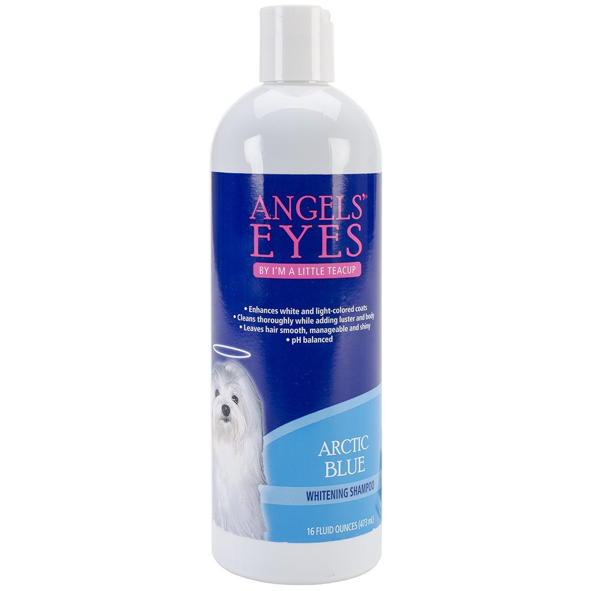 16-ounce Angels' Eyes Whitening Dog Shampoo (Artic Blue)