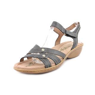Easy Spirit e360 Women's 'Varen' Leather Sandals - Wide