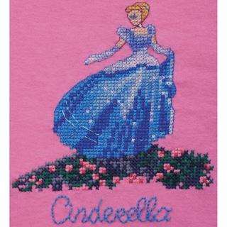 """Disney Dreams Collection By Thomas Kinkade Cinderella-7""""X8"""" 8.5 Count Waste Canvas"""