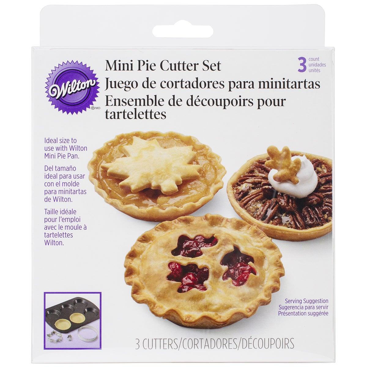 Wilton Mini Pie Cutter Set-Autumn (Autumn)