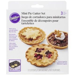 Mini Pie Cutter Set-Autumn