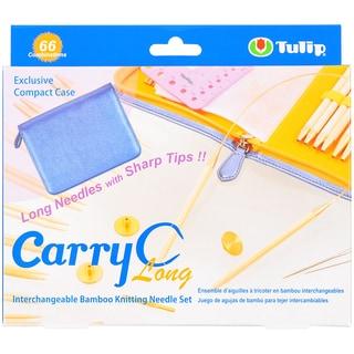 Carry C Interchangeable Bamboo Circular Needle Long Set