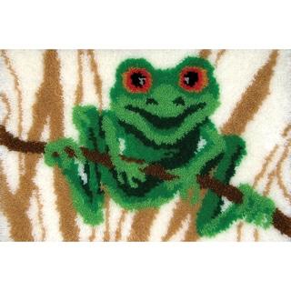 "Latch Hook Kit 27""X20""-Frog"