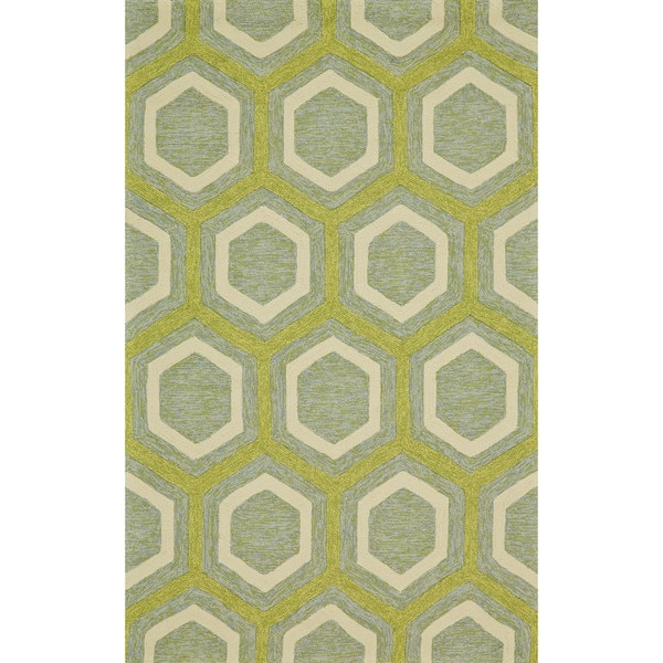 "Grand Bazaar Salvaje Sea Glass Area Rug (7'6"" x 9'6"") - 7'6"" x 9'6"""