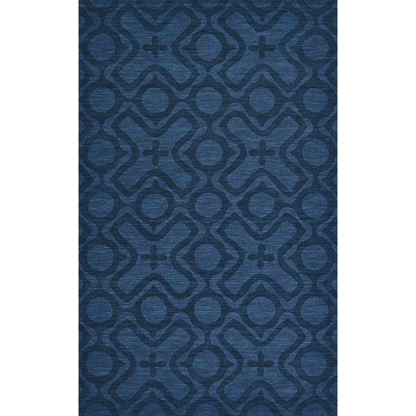 Grand Bazaar Rigby Cobalt Area Rug (8' x 11') - 8' x 11'