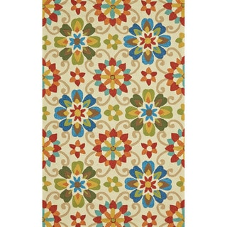 Grand Bazaar Tufted Polypropylene Salvaje Rug in Multi 2' x 3'
