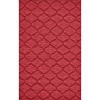 Grand Bazaar Rigby Red Area Rug (8' x 11') - 8' x 11'