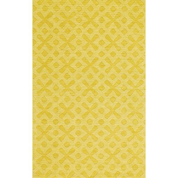 Grand Bazaar Rigby Yellow Area Rug (8' x 11') - 8' x 11'