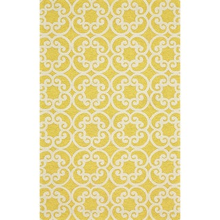 "Grand Bazaar Tufted Polypropylene Salvaje Rug in Maize 8'-6"" x 11'-6"""