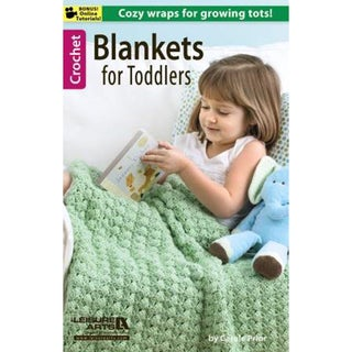 Leisure Arts-Blankets For Toddlers