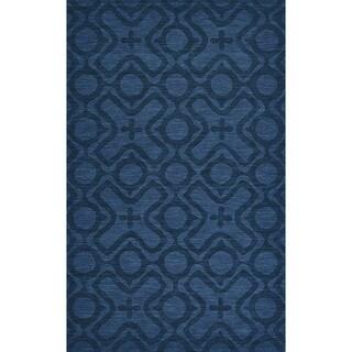 """Grand Bazaar Rigby Cobalt Area Rug (3'6"""" x 5'6"""") - 3'6 x 5'6"""