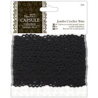 "Papermania Midnight Blush Jumbo Crochet Trim 1.5""X2m"
