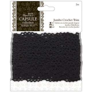 "Papermania Midnight Blush Jumbo Crochet Trim 1.5""X2m"