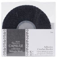 "Papermania Midnight Blush Adhesive Crochet Border .5""X5m"