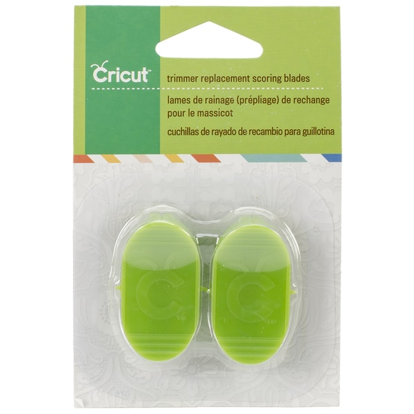 Cricut Paper Trimmer Replacement Blades 2 Pkg Scoring For