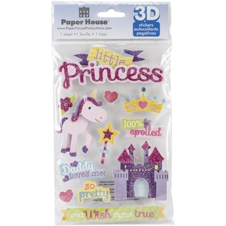 Paper House 3D Stickers-Little Princess