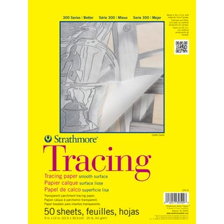 Strathmore Tracing Paper Pad 11X14-25lb 50 Sheets