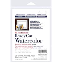 Strathmore Watercolor Paper 8X10-140lb 10 Sheets Cold Pressed