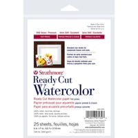 Strathmore Watercolor Paper 5X7-140lb 25 Sheets Hot Pressed