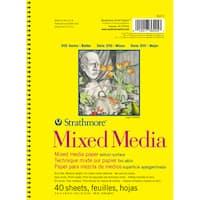 Strathmore Mixed Media Vellum Paper Pad 5.5X8.5-90lb 40 Sheets