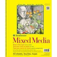 Strathmore Mixed Media Vellum Paper Pad 9X12-90lb 40 Sheets