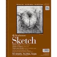 Strathmore Sketch Paper Pad 5.5X8.5-60lb 100 Sheets