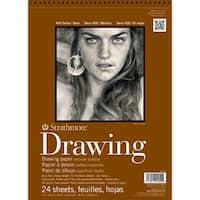 Strathmore Medium Drawing Paper Pad 8X10-80lb 24 Sheets