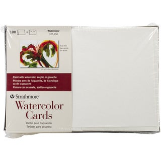 Strathmore Watercolor Cards 5X7 100/Pkg