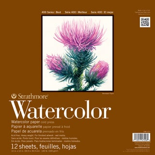 Strathmore Watercolor Paper Pad 5.5X8.5-140lb Cold Press 12 Sheets