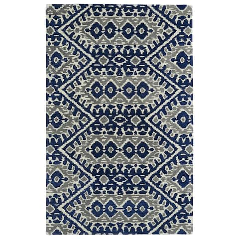 Global Transitional Hand-tufted Wool Area Rug