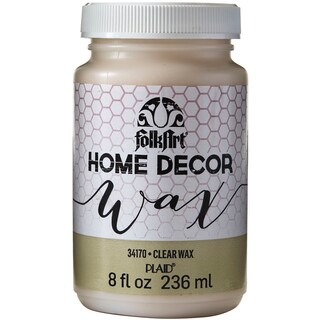 FolkArt Home Decor Wax Sealer 8oz-Clear