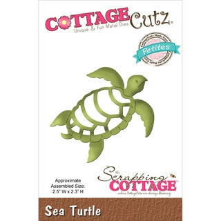 "CottageCutz Petites Die 2.5""X2.3""-Sea Turtle"