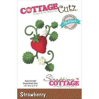 "CottageCutz Petites Die 1.6""X2.3""-Strawberry"