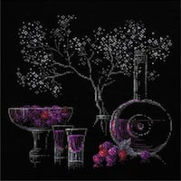 """Still Life With Liquor Counted Cross Stitch Kit-11.75""""X11.75"""" 14 Count"""