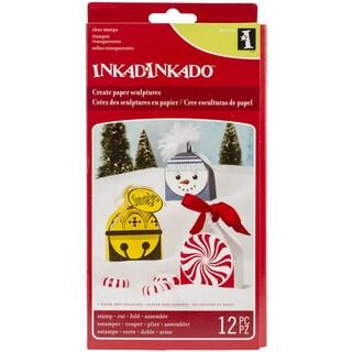 Inkadinkado Christmas Paper Sculpture-Ornament