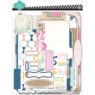"Heidi Swapp Mixed Media Scrapbook Album Kit 9""X11.5""-Cardstock Memory Files"