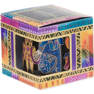 Laurel Burch Artistic Mug Collection-Dogs & Doggies