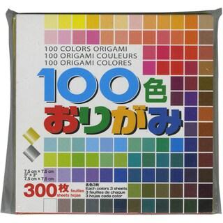 "Origami Paper 3""X3"" 300/Pkg-100 Colors"