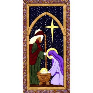 "Holy Family Quilt Magic Kit-9.5""X19"""