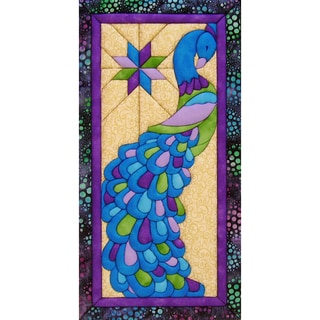 "Peacock Quilt Magic Kit-9.5""X19"""