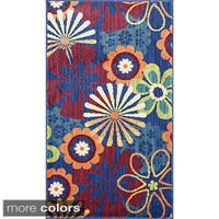 Tinsley Retro Floral Multi Rug - 1'7 x 2'6