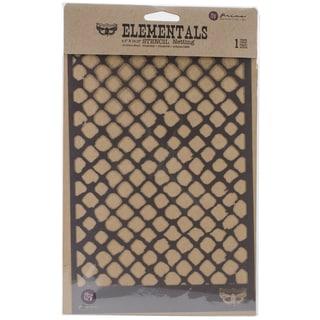 """Elementals Stencil 6.5""""X10.25""""-Netting"""