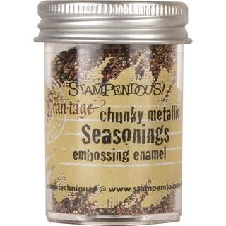 Stampendous Seasonings Embossing Enamel .63oz -Chunky Metallic