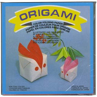 "Origami Paper 5.875""X5.875"" 500/Pkg-Assorted Colors"