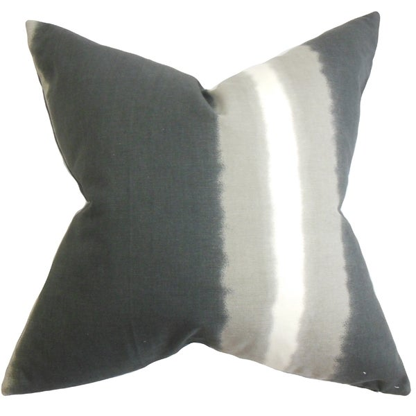 Domain Feather Filled Decorative Pillow : Djuna Stripe 18-inch Feather and Down Filled Decorative Throw Pillow - Free Shipping Today ...