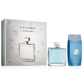 Azzaro Chrome Men's 2-piece Fragrance Set