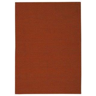 Nourison Sojourn Orange Rug (5' x 7')